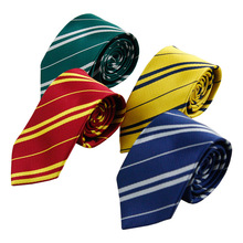 2017 New Fashion New Tie Necktie College Style Tie Harry Potter Gryffindor Series Gift Costume Accessories Gravata Masculina