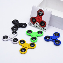Buy 7cm New Tri-Spinner Fidgets Toy Plastic EDC Sensory Fidget Spinner Autism ADHD Kids/Adult Funny Anti Stress Toys for $2.74 in AliExpress store
