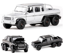 All New 1:32 G63 6X6 SUV Alloy Diecast Car Model Toy Off-Road Vehicle With Pull Back For Kids Birthday Gifts Toy Free Shipping