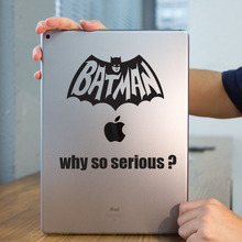 "Batman Quote Humor Funny Tablet PC Decal Laptop Sticker for iPad 1/2/3/4/Air/mini/Pro 7.9"" / 9.7"" / 12.9"" Notebook Sticker Skin"