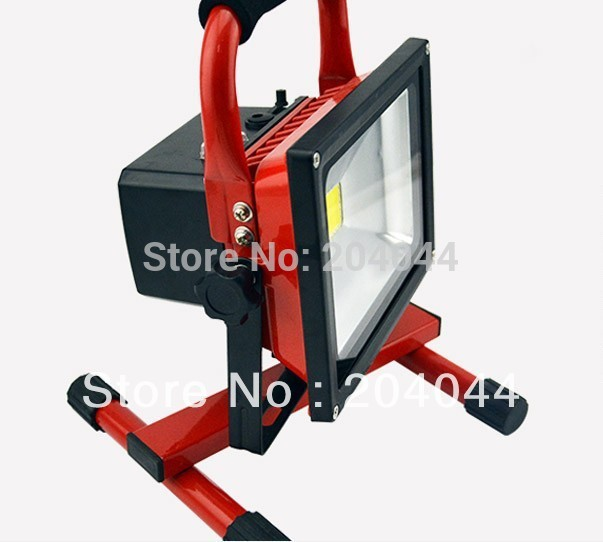Luminaria Led free Shipping Rechargeable 20 W Flood Light 1pcs Lot 8800mah Can Use 4 Hours Bridgelux Cob Ip65 Waterproof 20w<br><br>Aliexpress