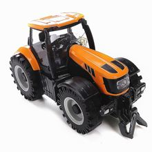 1:32 Scale Kids Toddlers Model Car Truck  LED Musical Toy Diecast Farmer Vehicle Tractor Toys For Children 163*88*78 mm