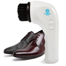 HS-100 USB Rechargeable Electric Shoe Brush Wipe Sofa Leather Goods Care Small Hand Hold Brush Shoes(China)