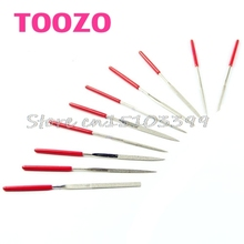 10Pcs Needle Files Carving Jeweler Diamond Metal Glass Stone Craft Tool 140mm #G205M# Best Quality