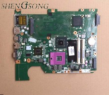 for HP compaq presario CQ61 G61 motherboard 517837-001 laptop motherboard DA00P6MB6D0 PM45 chipset free shipping(China)