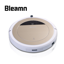 Bleamn B-Q75 B-Q85 2017 Most Advanced High Efficient Wet and Dry Robot Vacuum Cleaner HEPA Filter LCD Touch Screen Aspirador(China)