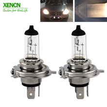 XENCN H4 P43t 12V 60/55W 3200K Clear Series Original More Brightness Car Headlight OEM Quality Halogen Bulb Auto Lamps 2pcs(China)
