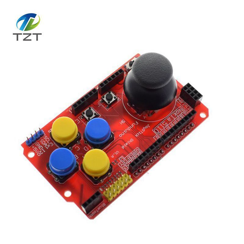 Joystick Shield for Arduino Expansion Board Analog Keyboard and Mouse Function Joystick Shield V1.2 4