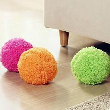 2017 New Automatic rolling ball Microfiber Robotic Mop Ball Mini Vacuum Cleaner Automatic Floor Sweeper Four Color Mop Ball(China)