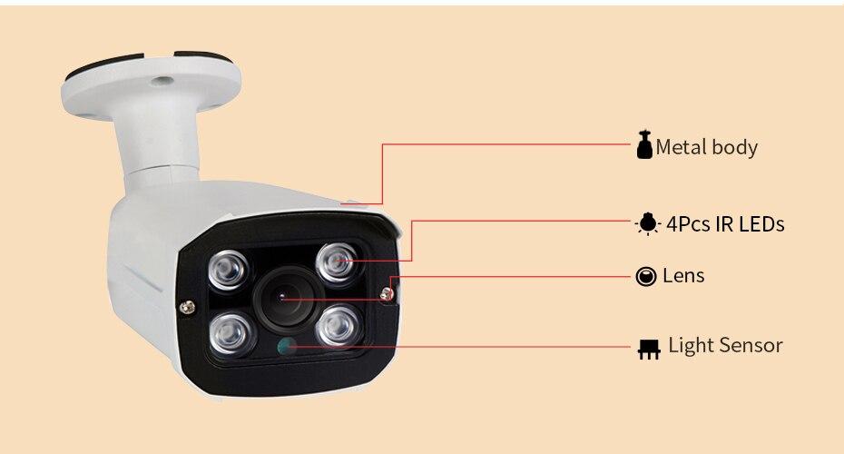 ZSVEDIO CCTV Monitor IP Camera Wi-fi IP Cameras Wifi Outdoor Alarm System Waterproof Wireless NVR 720P960P1080P 2MP HD Webcam (18)