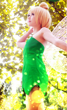 2016 Tinkerbell Fairy Cosplay Costume Tinker Bell Dress Costume (Only Dress)