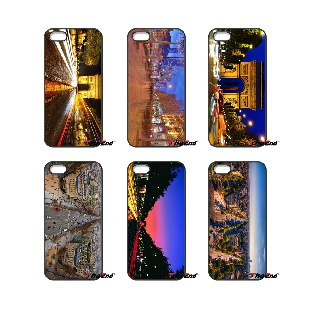For Samsung Galaxy Core Grand Prime S4 S5 S6 S7 Edge Xiaomi Redmi Note 2 4 3 3S Pro Mi5S Champs Elysees in Paris Case Cover(China (Mainland))