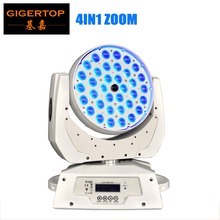 Buy Guangzhou TIPTOP White Shell 36x10W RGBW 360W Led Moving Head Stage Light Spot Zoom Beam Angle Adjustable 15-60 Degree for $395.00 in AliExpress store