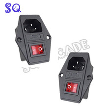 Free shipping Switch Socket with lighting switch arcade machine/Cocktail Machine accessorie/coin operated game arcade cabinet