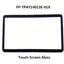 LCDOLED Original New 14 Laptop Touch Screen Glass Lens Panel Digitizer Replacement Repair Parts HP ENVY 14P FP-TPAY14013E-01X(China)