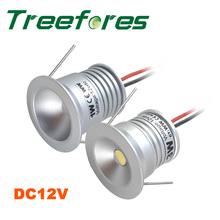 IP65 1W 12V DC Mini Led Downlight 80Ra Outdoor Led Bulb Light for Cabinet and Bathroom Lamp CE RoHS 5 Years Warranty