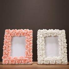 Fashion ceramic photo frame wedding gift fashion lovers photo frame decoration crafts(China)