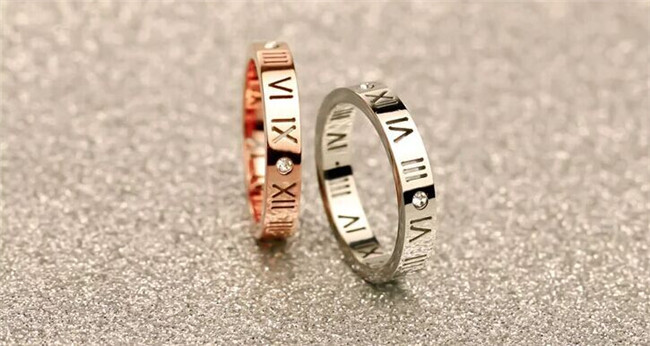 Martick-316L-Stainless-Steel-Roman-numerals-Fashion-Women-Ring-Gold-Plated-Jewelry-Hollow-Ring