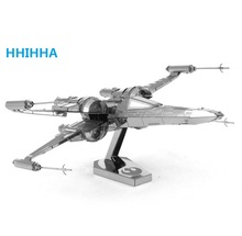 HHIHHA star wars Etching bb8 Trek Space ship 3D metal model Enterprise NCC1701 action figure DIY collection model kids toys
