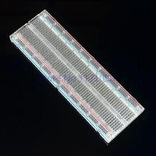 Crystal ! Solderless Solder Less Breadboard Protoboard 2 buses Tie-point Tiepoint 830 forArduino(China)