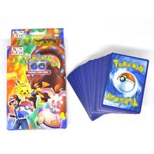 Game Poke 100pcs/lot 100pcs Include 20 Mega Classic EX Game Collection Card Kids Juguetes Best Gifts Toys For Children Brinquedo