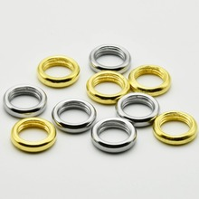 100PCS M10 Washers Lamp Circle Screw Nuts 3MM Thickness Iron Alloy 10mm Female Thread Washer for Lighting Tooth Tube(China)