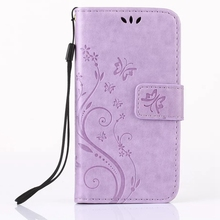 For Alcatel One Touch Pixi 3 4.5 OT 4027 4027N 4027D 4027X New Leather Wallet Phone Case Card Holder Wrist Strap TPU Back Cover