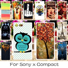 22 Plastic Silicon Phone Case Cover Sony Xperia X Compact Mini F5321 PS30 XC 4.6 inch Back Covers Shell Housing Hood - TAOYUNXI 3C Products Store store