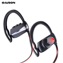 OASION sport bluetooth earphone waterproof earbuds stereo bluetooth headset waterproof wireless headphones for a mobile phone