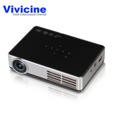 VIVICINE DLP-600W 3D Android 4.4 Projector DLP WIFI Wireless Projector 700ANSI Lumens 1280*800 Home Theater Mini Video Projector