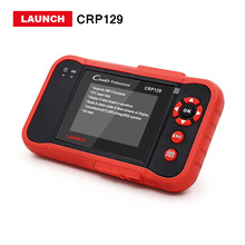 100% Launch X431 Creader CRP129 OBDII OBD2 diagnostic tool support Oil reset/ABS/DTC/SRS CRP 129 Scanner free Update DHL free(China)