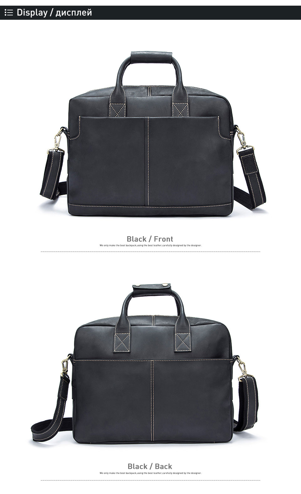 3 men bag handbags
