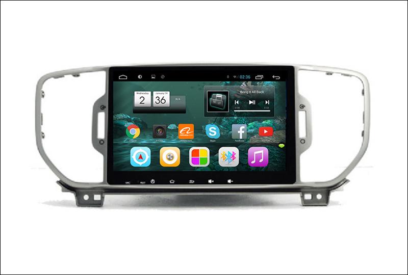 For Kia Sportage ( QL ) Kia KX5 2015 2016 - Car Android Media Player System Radio Stereo GPS Navigation Multimedia Audio Video 5