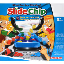 What are you thinking?Fun Slide Chip Shooting Board Games for Children and Adults, Family Game Night(China)