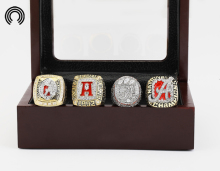 low price for Ring sets with Wooden Boxes Replica  4pcs/Packs University of Alabama Crimson Tide Championship Ring free shipping