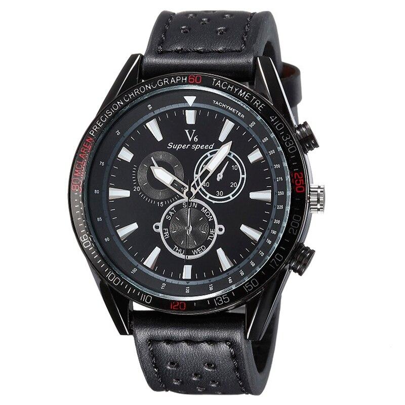 Fashion Men Full Black Quartz Watch 2016 Luxury Brand Wristwatch Sports Analog Dress Watches Relogio Masculino<br><br>Aliexpress