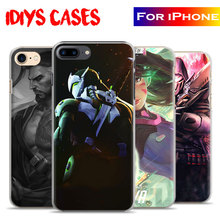 Ow Games Heroes D.Va Reaper GENJI HANZO MERCY Mccree Phone Case Cover Shell For Apple iPhone 7plus 7 6splus 6s 6plus 6 5 5s se(China)