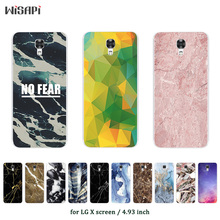 Buy Soft Phone Case LG X Screen K500N X View K500DS Soft Silicone Marble Printed TPU Cover Cases LG X View Cases for $1.48 in AliExpress store