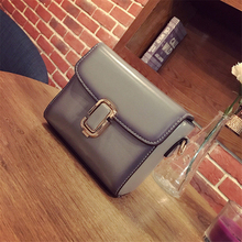 SHUNVBASHA  2017 new style Fashion lock catch Single Shoulder bag handbag mini messenger bag leisure PU small Toast package