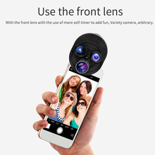Buy Rotating Clip Photo Camera Lens Kits Universal Mobile Phone 15X Macro Lens 0.63X Wide-angle Lens 198 Degree Fish Lens CPL for $10.44 in AliExpress store