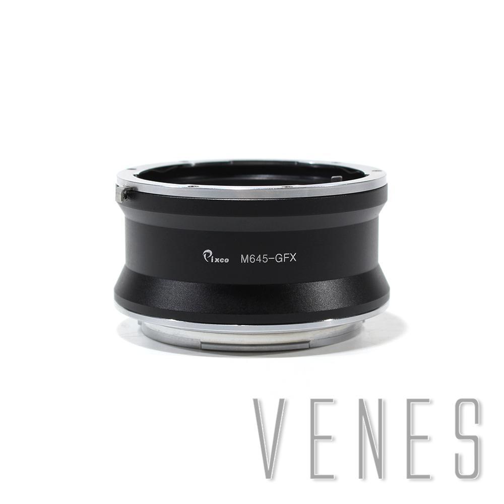 Pixco M645-GFX Lens Adapter Suit for Mamiya 645 Lens to Fujifilm G-Mount GFX Mirrorless Digital Camera such as GFX 50S