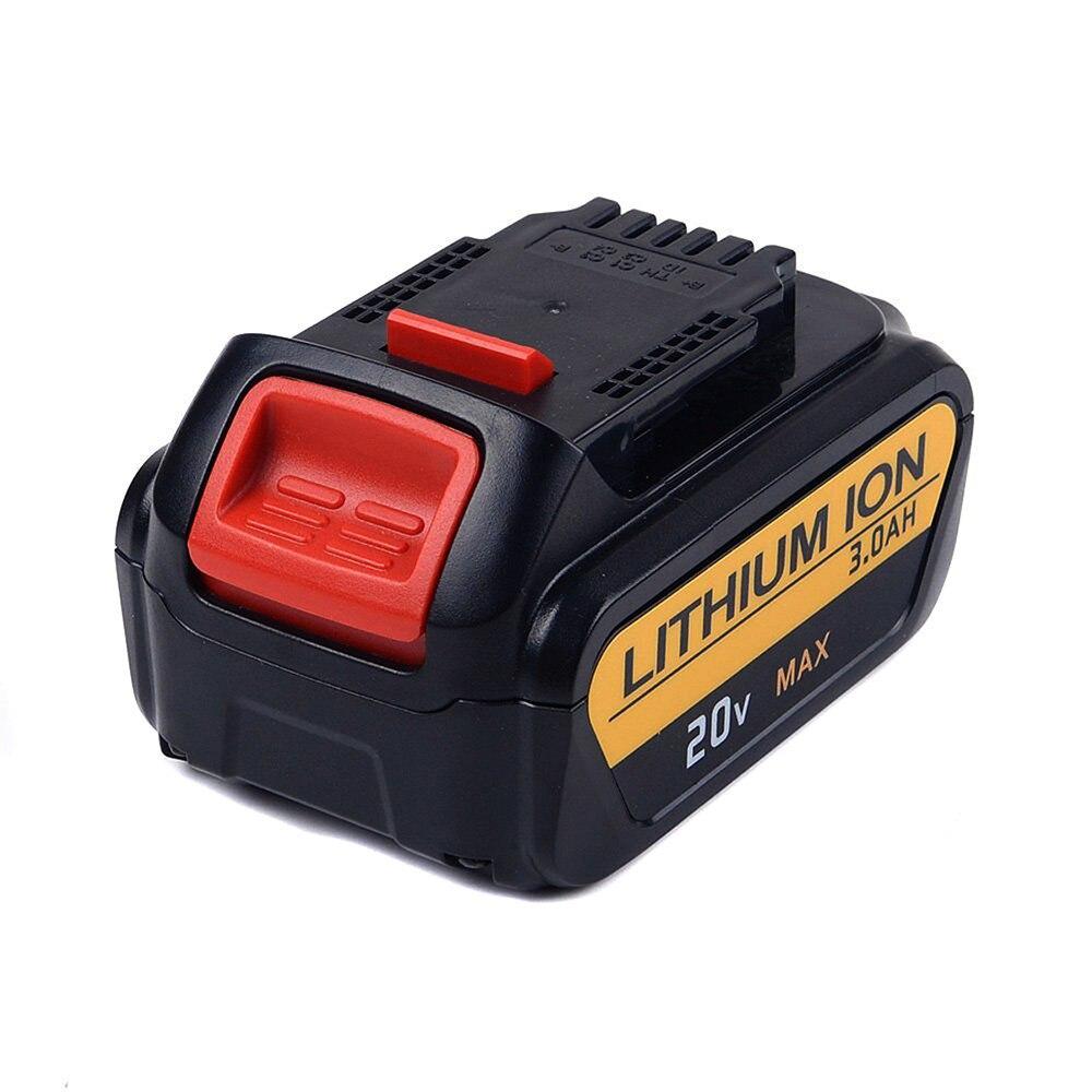 20V 3000MAh Drill Battery for XR DCB200 DCV580 DCB204 DCB205-2 DCB180 DCB203 DCB205 DCD740 DCD780 DCD785C2 DCT5 VHJ99 T0.4<br>