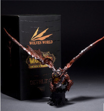22cm online games Cataclysm Action Figres Neltharion Deathwing Garage Kits Dota Model