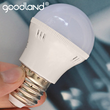 Goodland E27 LED Lamp 3W 5W 7W 9W 12W LED Bulb Light 220V Energy Saving Lampada LED Lamp Bulb SMD 5370 Warm/Cold White D3-D12