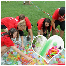 111pcs / Bunch  Fast Water Balloon Children's Toys Water Ball Bundle Summer Bachelor Party Supplies