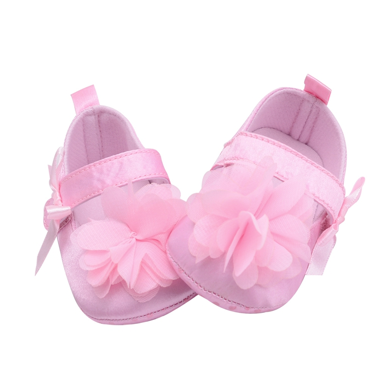 Flower Spring / Autumn Infant Baby Shoes Moccasins Newborn Girls Booties for Newborn 3 Color Available 0-18 Months 9