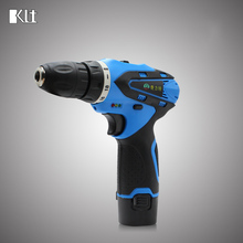 QILITE 12V 16.8V 21V 25V Screwdriver battery Cordless Screwdriver Power tools Screw gun Electric Battery*2 screwdriver drill