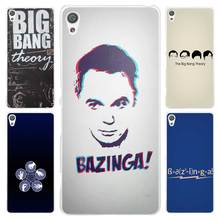Hot sale bigbang theory guys Clear Cover Case for Sony Xperia Z1 Z2 Z3 Z4 Z5 M4 Aqua M5 XA XZ C4 E5 l36h(China)