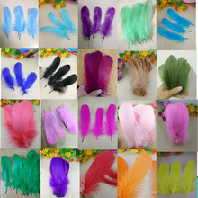 New! Wholesale  20 pc quality natural goose feathers, 5-7inches / 13-18cm DIY jewelry decoration