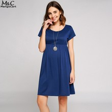 FANALA Summer Dress Women Casual Dresses Fashion Solid Short Sleeve Plus Size Party Dress Scoop Collar Smock Dress Vestido